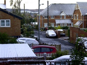 Snow in Stocksfield