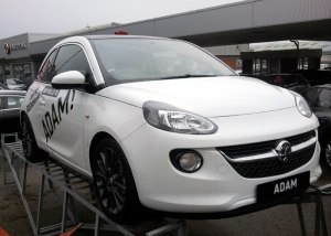 Vauxhall 'Adam' car