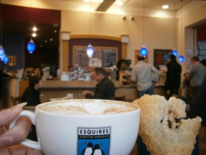Coffee at Esquires, Coventry